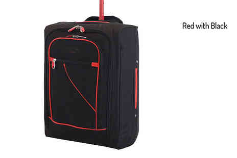 Mscomputers - Cabin Approved Suitcase in 2 Colours - Save 70%