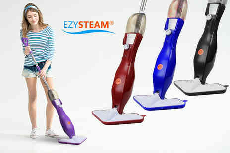 Groundlevel - 4 in 1 steam mop choose from four colours - Save 85%