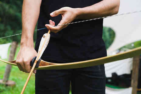 Yorkshire Activity Centre - Archery and slingshot firing experience lasting up to two hours for one or two - Save 65%