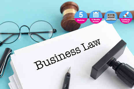 E Careers - Business law diploma - Save 91%