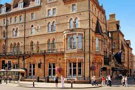 Macdonald Randolph Hotel - Luxury central Oxford 5 star hotel stay - Save 0%