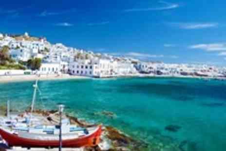 Mykonos Ammos Hotel - In Mykonos Seven Night Stay For Two With Four Course Meal, Transfers, and Breakfast - Save 58%