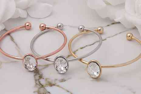 Neverland Sales - One or Two Neverland Sales Bangles with Crystals from Swarovski With Free Delivery - Save 77%