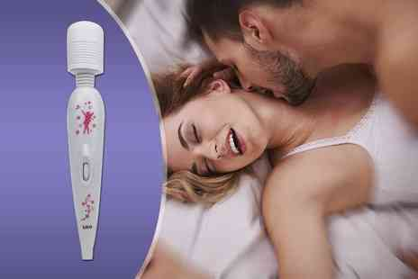 Treats on Trend - Rechargeable couples massage wand - Save 86%