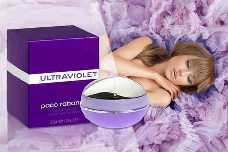 Deals Direct - 50ml bottle of Paco Rabanne Ultraviolet EDP - Save 41%