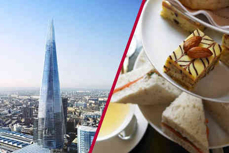 Buyagift - Entrance for two to The View from the Shard plus afternoon tea - Save 0%