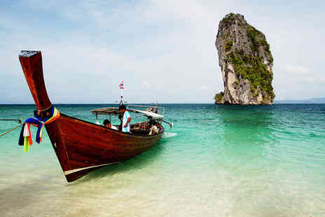 Hoodaki - Seven night Bangkok and Krabi stay with breakfast, transfers and return flights - Save 29%