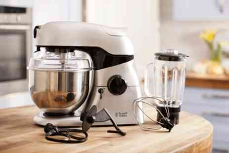 Groupon Goods Global GmbH - Russell Hobbs Kitchen Machine Stand Mixer and Blender With Free Delivery - Save 70%