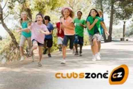 Clubszone - Two Days Entry to Kids Summer Activities Club - Save 67%