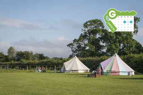 Botany Camping - Eco Glamping Bell Tent for Five with a BBQ Kit and Marshmallows - Save 50%