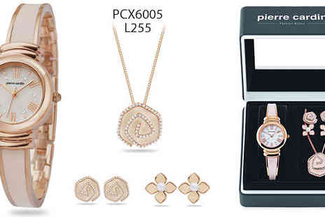 Brand Logic Europe - Pierre Cardin Watches With or Without Jewellery Sets - Save 70%