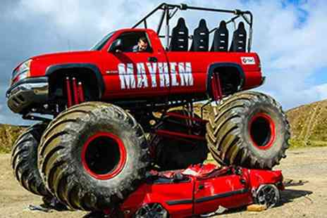 Red Letter Days - Monster truck ride experience for 2 - Save 0%