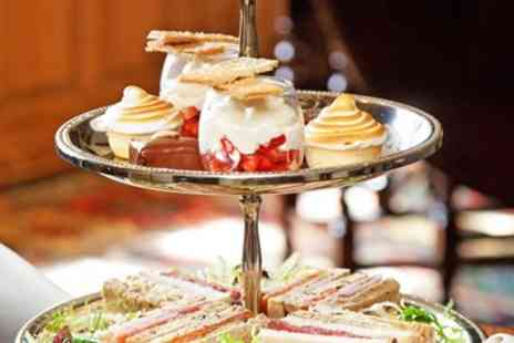 Holdsworth House Hotel and Restaurant - Delightful afternoon tea with bubbly for 2 - Save 37%