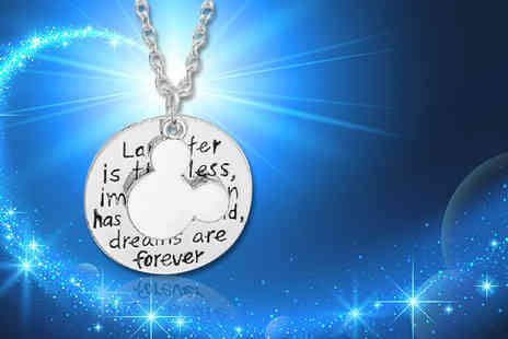 Solo Act - Dreams are forever Disney inspired necklace - Save 74%