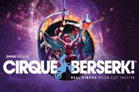 Festival Theatre Edinburgh - One ticket to see Cirque Berserk on 20 To 23 February - Save 33%