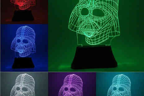 ViVo Technologies - 3d effect led light sculpture desk lamp - Save 64%