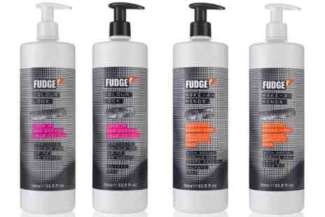 Groupon Goods Global GmbH - Fudge Make a Mends, Big Bold Oomf, Colour Lock or Smooth Shot Shampoo and Conditioner Sets 1000ml - Save 13%