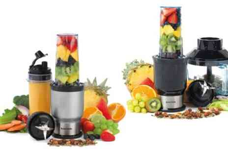 Groupon Goods Global GmbH - Salter NutriSlim Blender or Two in One Nutrient Extractor Blender and Chopper 700W - Save 52%
