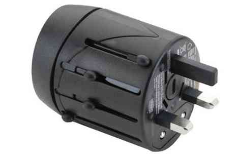 Groupon Goods Global GmbH - Fujifilm World Travel Adapter with USB Charger - Save 0%