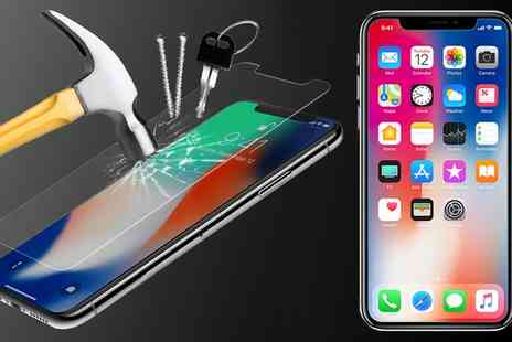 Groupon Goods Global GmbH - One, Two, Three or Four Tempered Screen Protectors for iPhone X - Save 60%