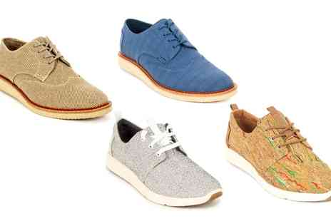 Groupon Goods Global GmbH - Toms Lace Up Womens Sneakers or Mens Brogues - Save 0%