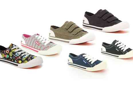 Groupon Goods Global GmbH - Rocket Dog Jazzin or Jagg Trainers in Choice of Colour - Save 46%