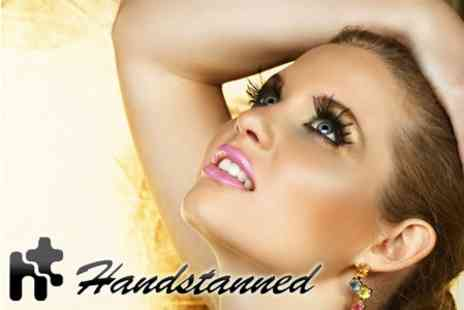 Hands Tanned - Hollywood Lashes, Eyebrow Shape and Tint - Save 72%