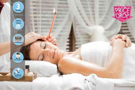 Online Beauty Training - Thermal auricular candling online course - Save 75%