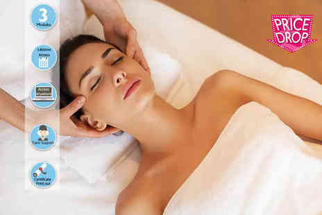 Online Beauty Training - Indian head massage diploma course - Save 73%