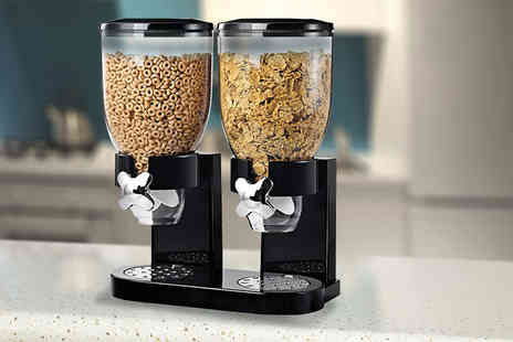 Direct 2 public - Double cereal dispenser - Save 62%