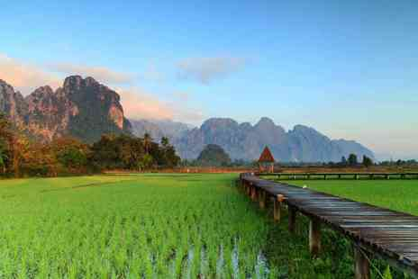 MyHoliday2 - Six night Laos tour with breakfast, guides, transfers and sightseeing tickets - Save 39%