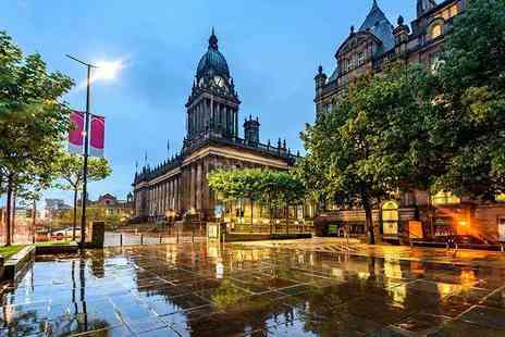 Britannia Leeds Bradford - Overnight stay for two with breakfast and three course dinner - Save 43%