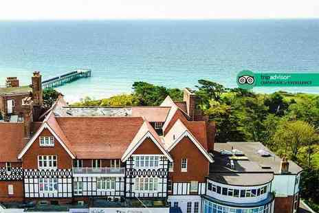 The Chine Hotel - One or two night Bournemouth stay for two with breakfast, a bottle of wine and late check out - Save 50%
