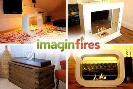 Imagin Fires - Alve or Oblosk Bioethanol Fireplace from Imagin Fires - Save 60%