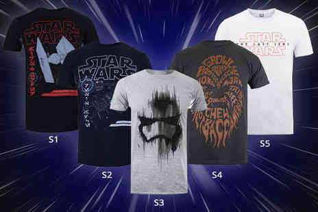 Mega T Shirt Store - Mens Star Wars t shirt choose from five designs - Save 0%