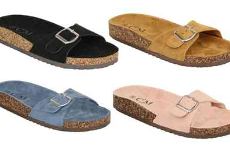 Groupon Goods Global GmbH - Universal Clothing CM Womens Mule Sandals in Choice of Colour - Save 0%