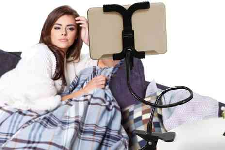 Groupon Goods Global GmbH - 360 Degree Lazy Clamp Tablet Holder - Save 68%