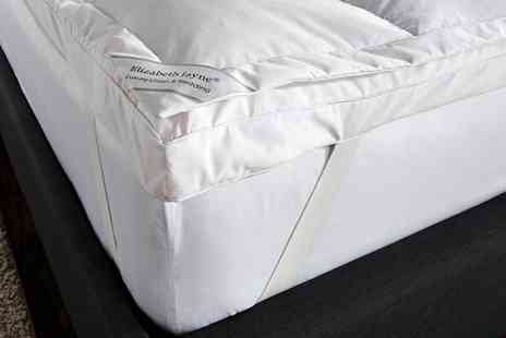 Groupon Goods Global GmbH - 9cm Goose Feather and Down Dual Layer Mattress Topper - Save 79%