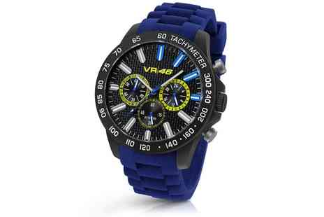 Groupon Goods Global GmbH - Valentino Rossi VR110 Chronograph Wrist Watch With Free Delivery - Save 58%