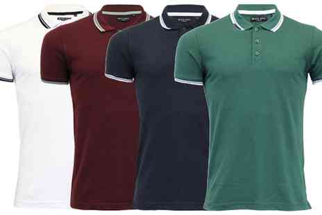 Groupon Goods Global GmbH - Brave Soul Mens Classic Polo Shirt in Choice of Colour - Save 0%