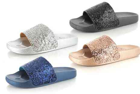 Groupon Goods Global GmbH - Womens Slider Sandals in Choice of Colour - Save 0%