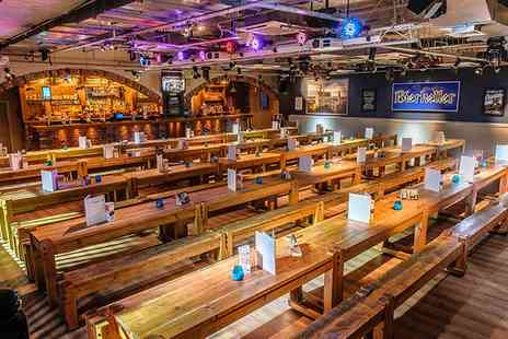 Bierkeller - Bronze entrance package for one - Save 50%