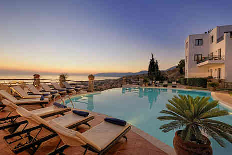 Creta Blue Boutique Hotel - Four Star Romantic Hillside Suites with Beautiful Views For Two - Save 54%
