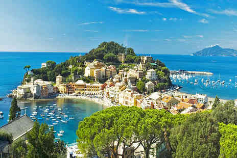 Hotel Due Mari - Four Star Enchanting Location on the Italian Riviera For Two - Save 75%