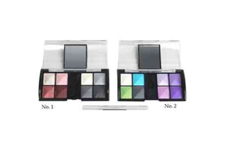 GetGorgeous - Eight colour compact mirror eyeshadow palette with five shade options - Save 85%