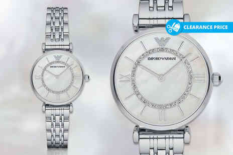 Wristy Business - Ladies Emporio Armani AR1908 watch - Save 65%