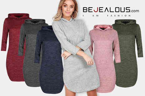 Be Jealous - Hooded jumper dress - Save 65%