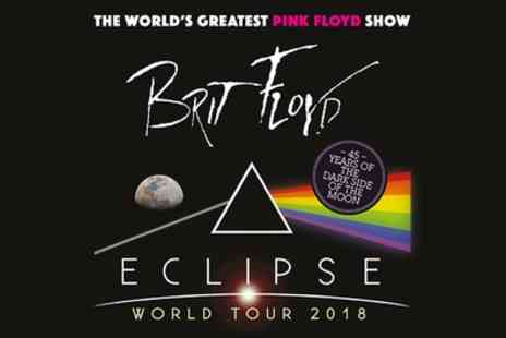 CMP Entertainment - Brit Floyd Eclipse World Tour on 2 to 18 March - Save 47%