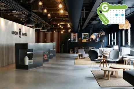 Good Hotel London - Double Room for Two with Welcome Drink and Option for Breakfast - Save 18%