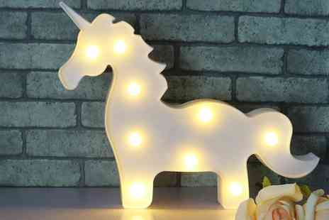 Groupon Goods Global GmbH - Unicorn Nine Bulb Battery Operated LED Light - Save 46%